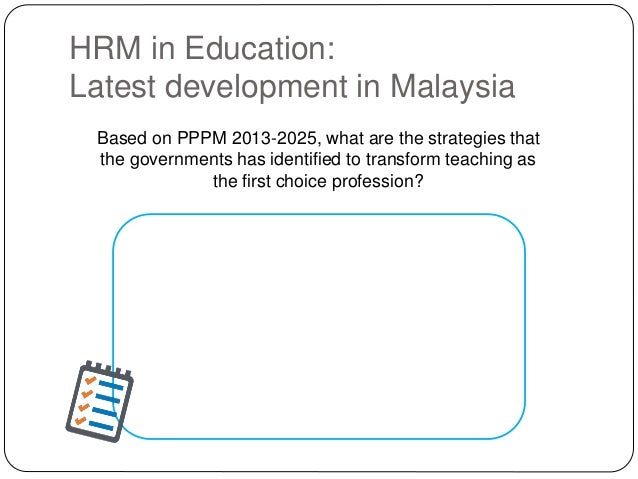 Based on PPPM 2013-2025, what are the strategies that the governments has identified to transform teaching as the first ch...