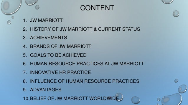 marriott hotel best practices evaluating recruitment and selection practices Aec recruitment survey  case studies, and industry input, dbia has identified design-build best practices  establish clear evaluation and selection processes .