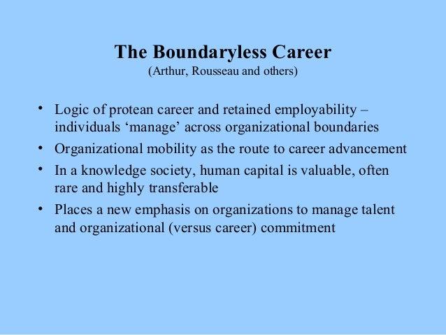 the boundaryless career