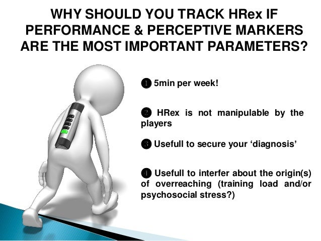 WHY SHOULD YOU TRACK HRex IF PERFORMANCE & PERCEPTIVE MARKERS ARE THE MOST IMPORTANT PARAMETERS? ❶ 5min per week! ❸ Useful...