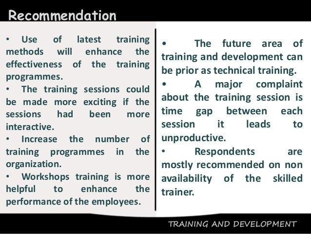 suggestion and recommendation in ojt Comments & suggestions after undergoing industrial training for 20 weeks, there are many things i have learned along the technician department as usual any applicable case there is bad and it's good, as well as industry training.