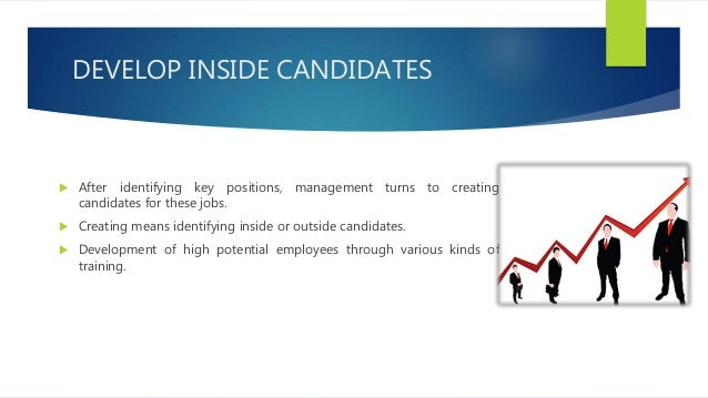 ASSES AND DEVELOP  Succession planning requires assessing these candidates and selecting those who will actually fill the...