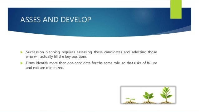 STUDY OF SUCCESSION PLANNING IN ORGANIZATIONS