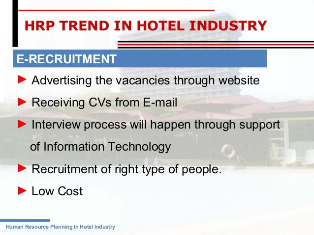 Human Resource Management in Hotel Industry