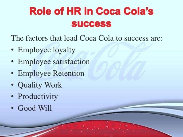 Coca-Cola Key Success Factors