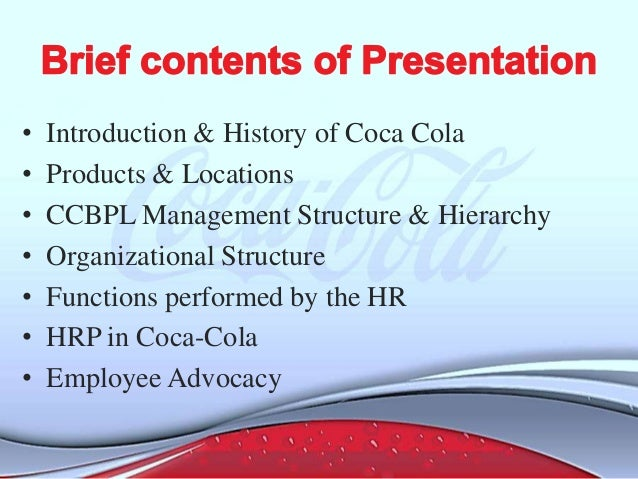 the process of socialization on coca cola Hours of work improvement guide the coca-cola company social compliance auditors have identified excessive work hours.