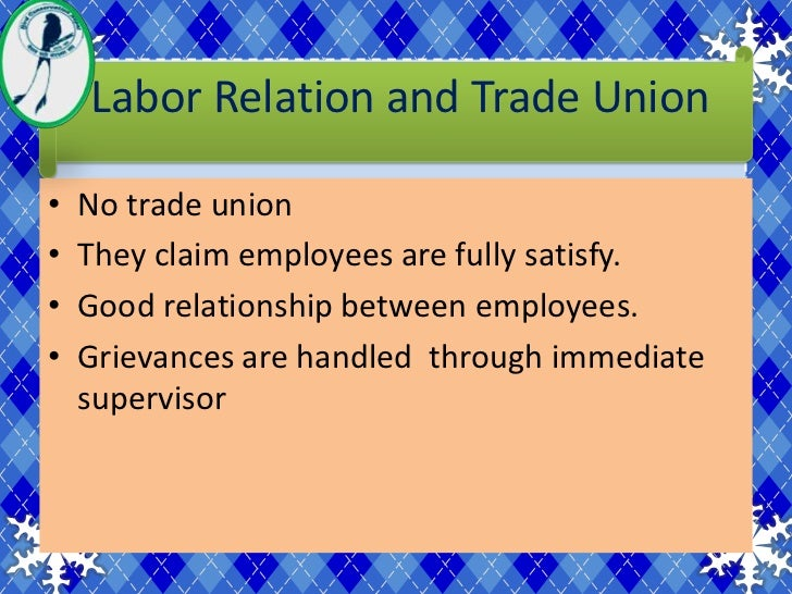 an introduction to the stake of labor in the world trade organization This discipline covers the relationship of workers with the organization and with each other labor  trade union or by the orders of the labor  shrm ppt last.