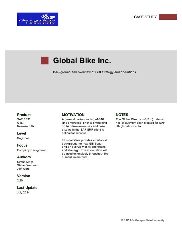 GBI Strategy & Operations Overview