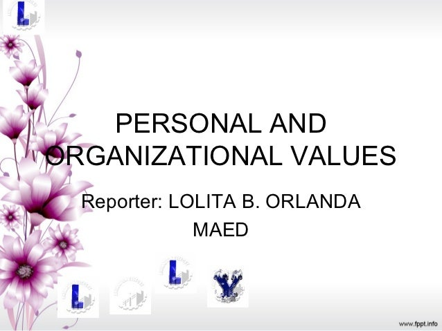 individual values in organizations 1 Chapter one understanding organizational behaviour objectives  psychology, sociology and cultural anthropology to learn about individual perceptions, values, learning capacities and actions while working in groups and careful application of knowledge about how people.