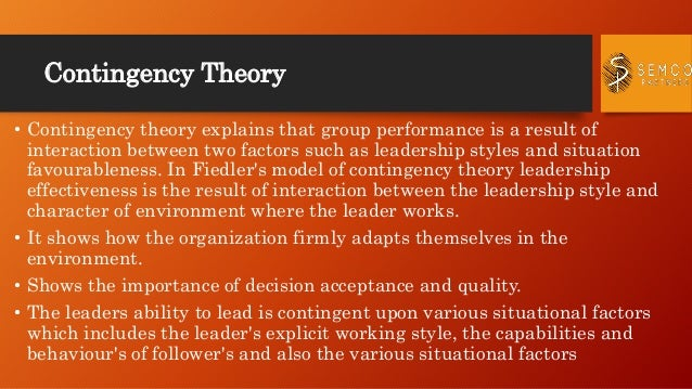 management theories for semco Technofunc presents leadership basics tutorial on management theories understand the definition and classical management theories in this free video tutorial.