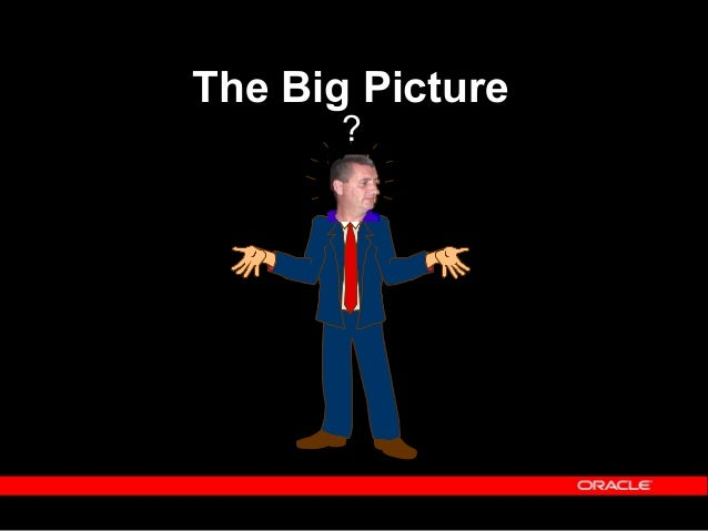 Copyright (c) 2001 - Oracle Corporation UK Limited The Big Picture Just what are we dealing with here?