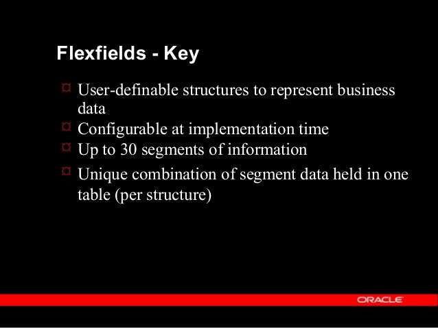 Copyright (c) 2001 - Oracle Corporation UK Limited Flexfields  Linkage of segment-combination to Person held in another t...