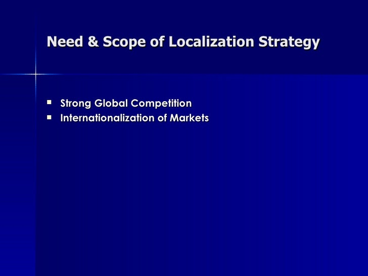 advantage of localization strategy Everyone's talking about localization but what is it and how can it empower your  business check out the top 5 benefits here.