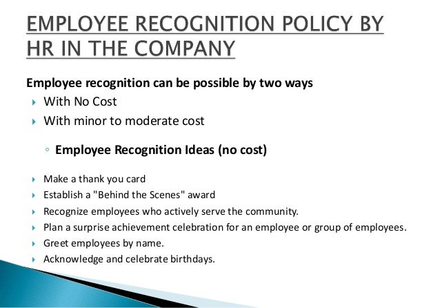 What are some ideas for employee awards?