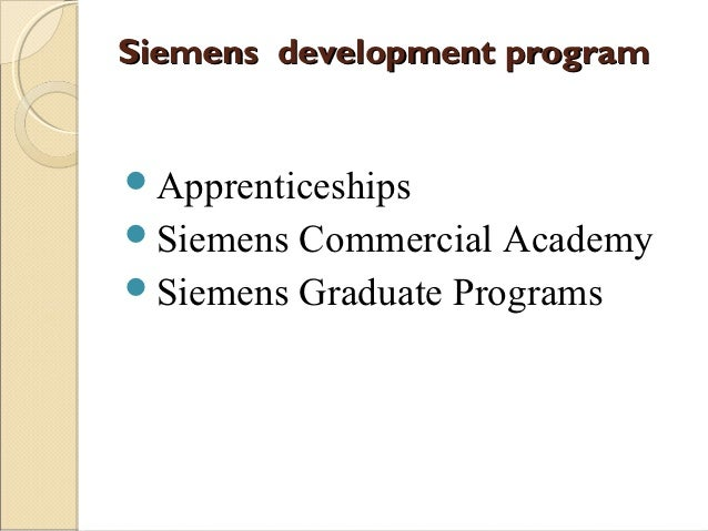 siemens case study motivation