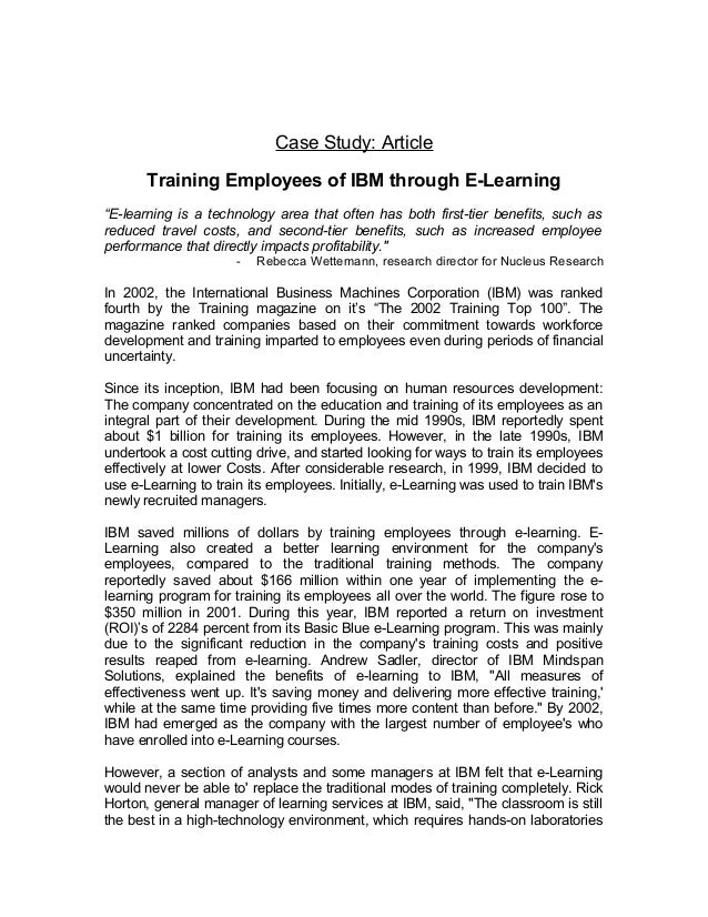 training of employees in itc essay Factors contributing to employee satisfaction include treating employees with respect, providing regular employee recognition, empowering employees, offering above industry-average benefits and compensation, providing employee perks and company activities, and positive management within a success framework of goals, measurements, and expectations.