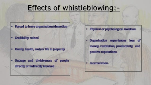 Merits and demerits of whistle blowing