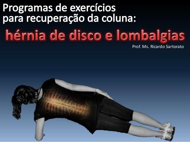 Prof. Ms. Ricardo Sartorato