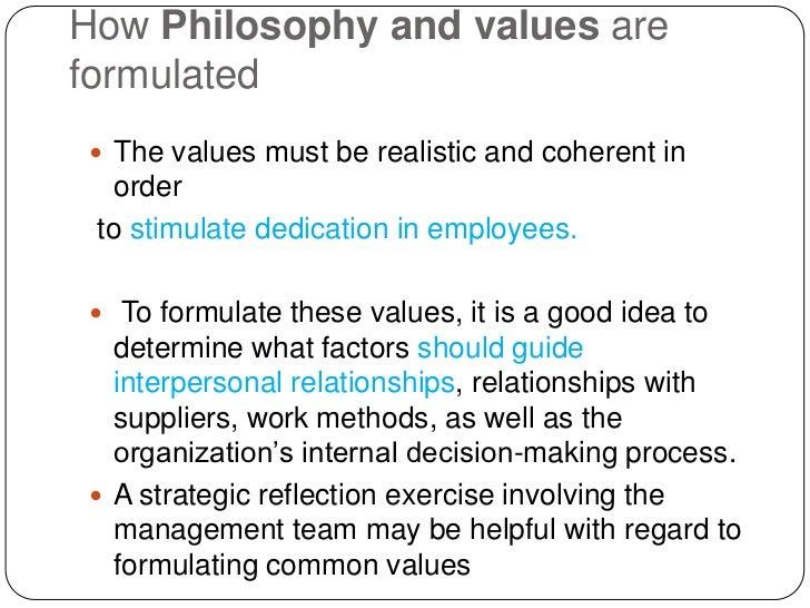 Hr philosophy of tatas by param