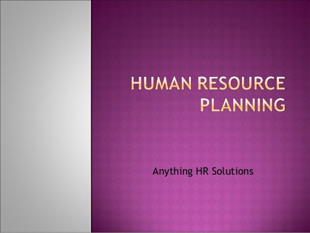 Anything HR Solutions