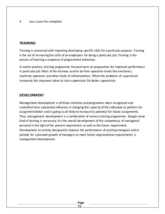 """A Proposal For Master of Philosophy """"HR Planning and"""