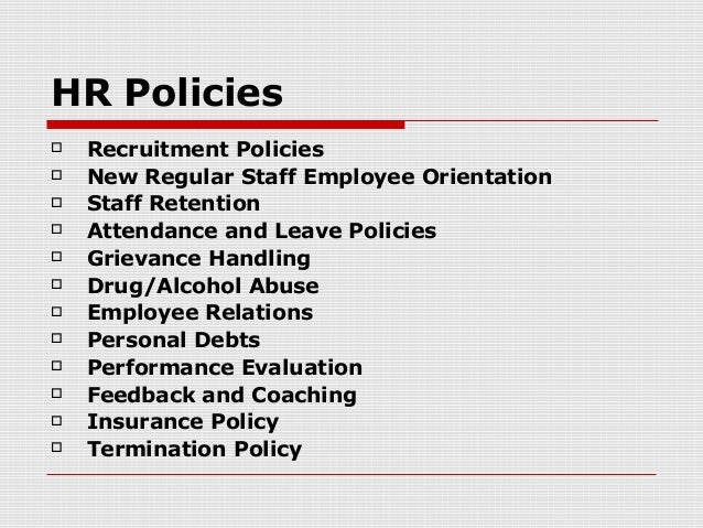 Hr policies dating in the workplace