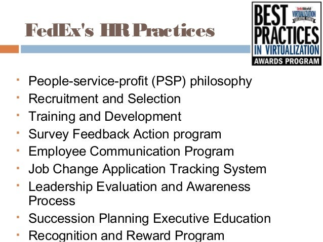 people service profit philosophy at fedex