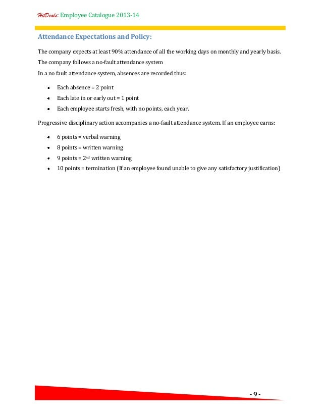 templates for employee write ups
