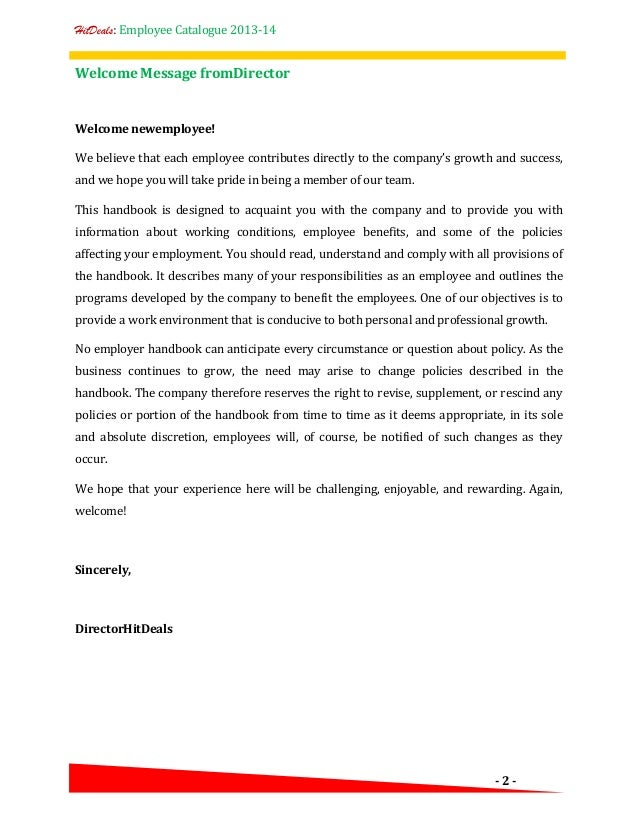 new hire letter templates