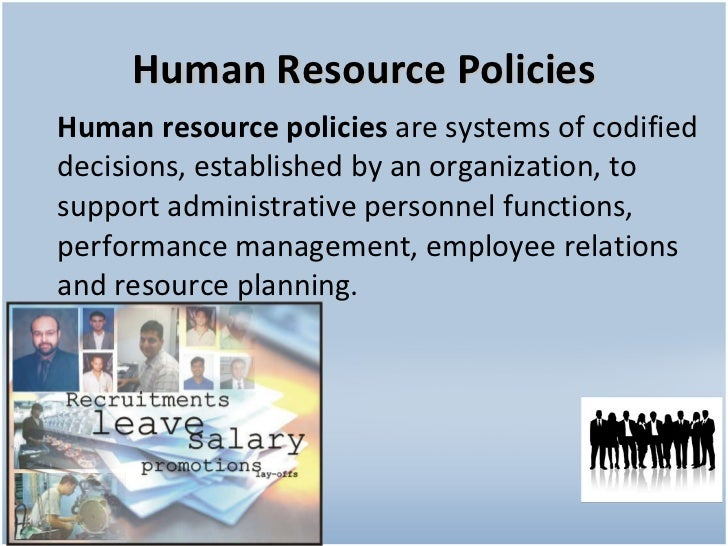 hr policy Hr policies unless otherwise stipulated, these policies apply to all regular full- time staff collective agreements between the certified bargaining agents and the .