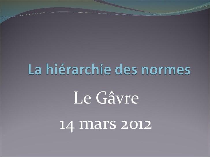 Le Gâvre14 mars 2012