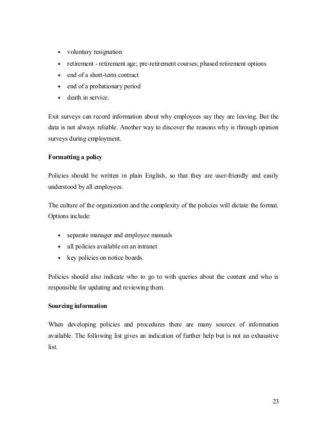 Volunteer Resignation Letter Template