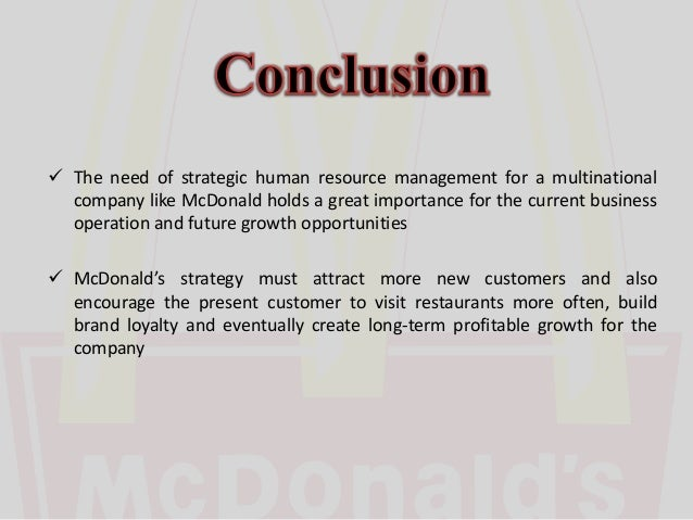 operations management mc donalds competitive advantage essay The purpose of this project is to know how operations management contributes to the competitive advantage of mcdonald's in this project i have also discussed the theoretical stand point of inventory, capacity management, lean synchronization and quality management and how they impacted on the organization.