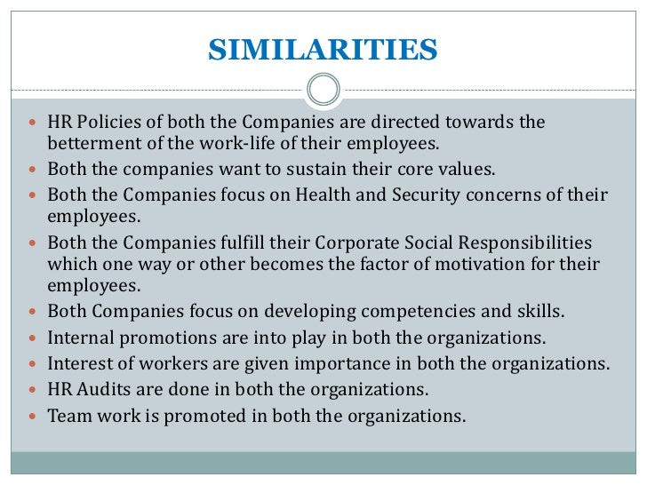 Hr practices at reliance