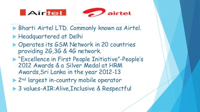 hr practices in bharti airtel New to hr templates, tools and development to make you a seasoned pro in no time.