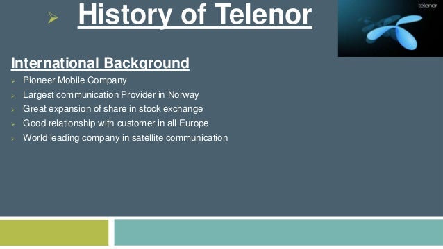 Telenor's Head of Human Resource Department Resigns