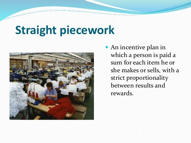 piecework plan and merit pay Need help, multiple choice human resource questions  multiple choice human resource questions  merit pay straight piecework plan.