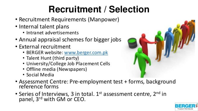 recruitment and selection practices of bdo