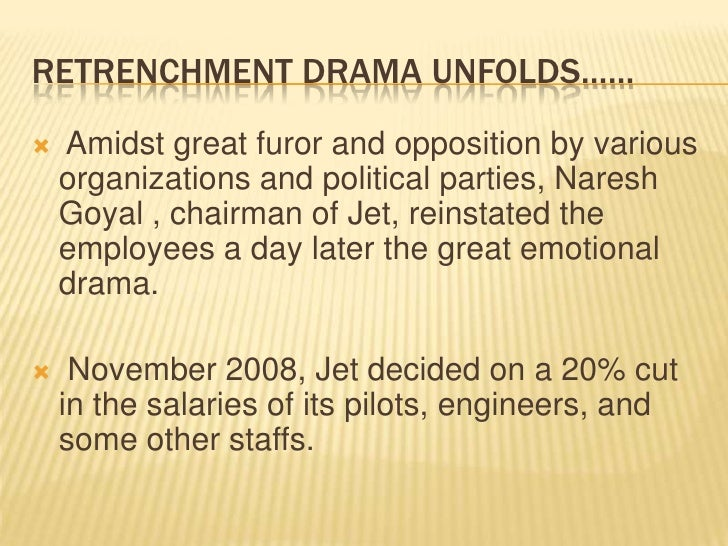 failure of hr strategy in jet airways Jet airwarys case study on hr (termination of employees in this case study the main failure for jet airways was the communication the way it the strategic mistake made by it and came with a high price as in which it lost its financial resources, lost the trust of the employees and it's consumers.