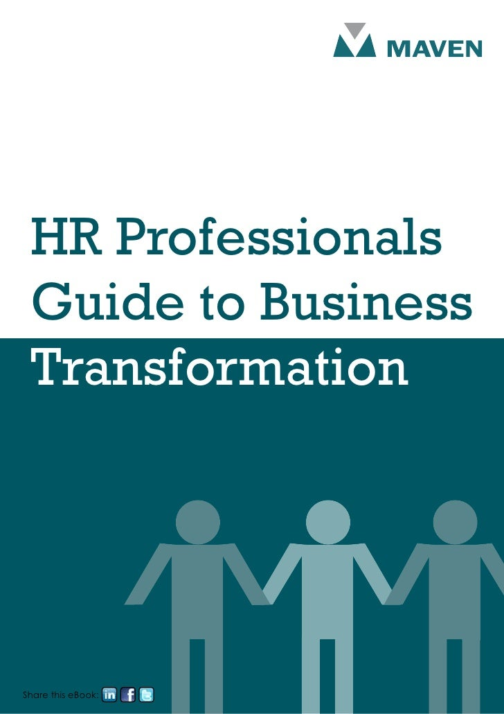 HR Professionals Guide to Business TransformationShare this eBook: