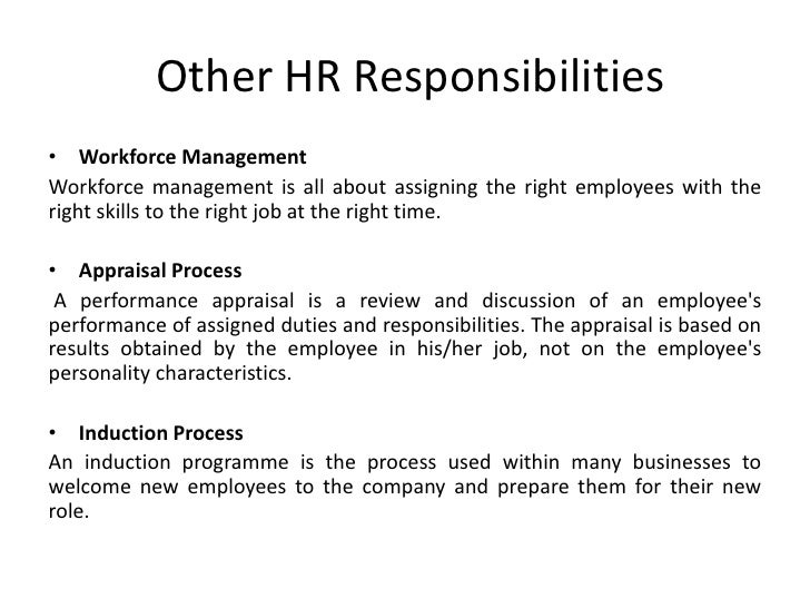 the role of hr department in Planning: the core function of human resource department page page 1 abstract human resource planning is a process of identifying current and future human resources needs for an organization to achieve its goals and strategic objective.