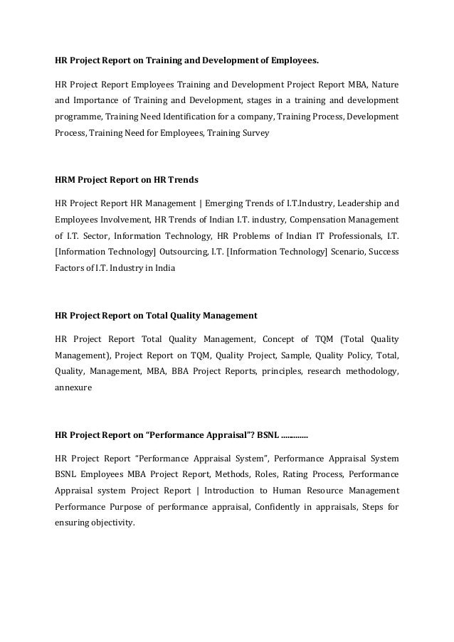 mba hr dissertation project report Free download final year mba project report, proposal, abstract, ideas,  synopsis by wwwreadymadeprojectcom for mba in hr for complete ready to  submit.