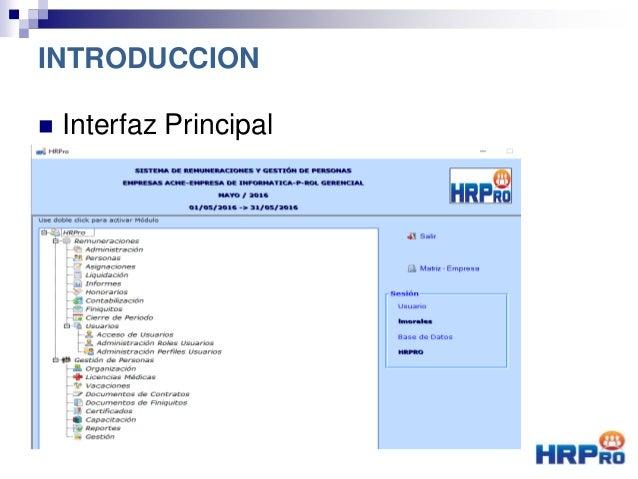  Interfaz Principal INTRODUCCION