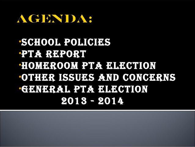Hrpta Agenda