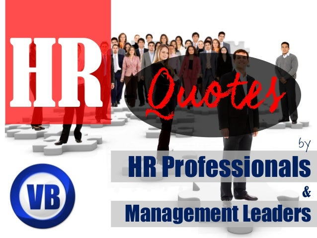 by HR Professionals & Management Leaders HR -