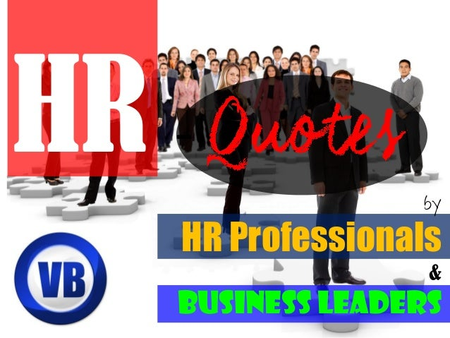 by HR Professionals & Business Leaders HR -