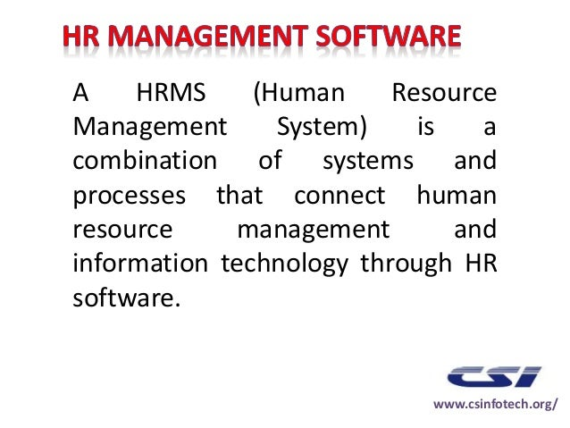 Hr Resource Management