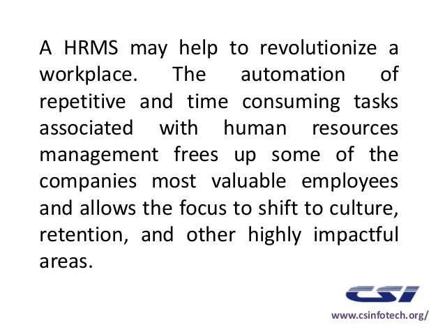 Hr resource management – Hr Resource