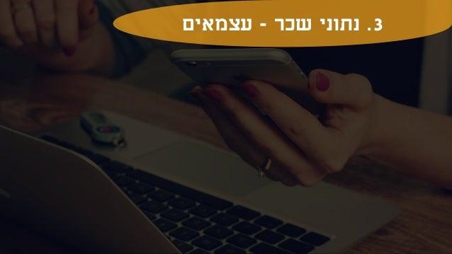 ה קהילת של השכר סקר - HR בישראל - 2021