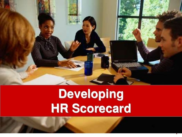 1visit: www.exploreHR.org Developing HR Scorecard